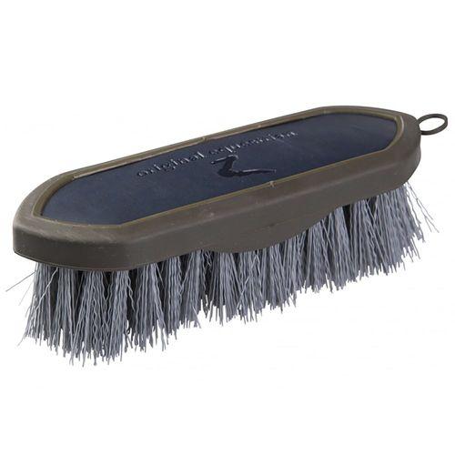 Horze Maddox PU Leather Handle Dandy Brush