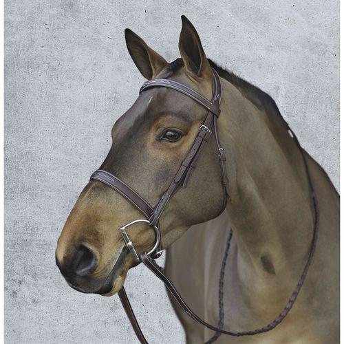 Pessoa® Pro Fancy-Stitched Wide Nose Bridle