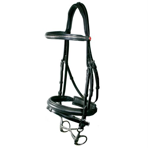 Kieffer Comfort Clincher Snaffle Bridle