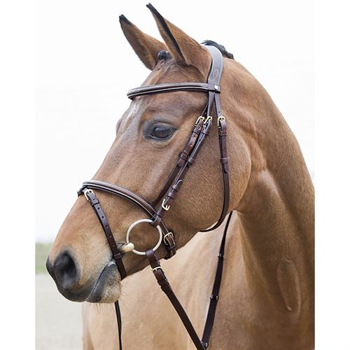 Horze Constance Padded Flash Snaffle Bridle