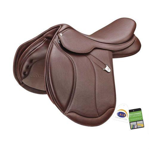 Bates Caprilli Close Contact+ Extended Flap Saddle