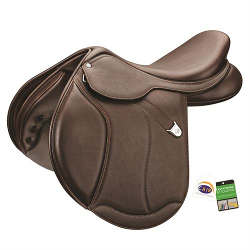 Bates Caprilli Close Contact+ Forward Flap with Luxe Leather Saddle