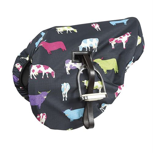 Shires Ride-On Waterproof Saddle Cover