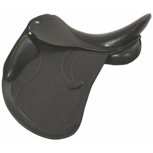 Henri de Rivel Ventura Covered Leather Dressage Saddle with Flocked Panels