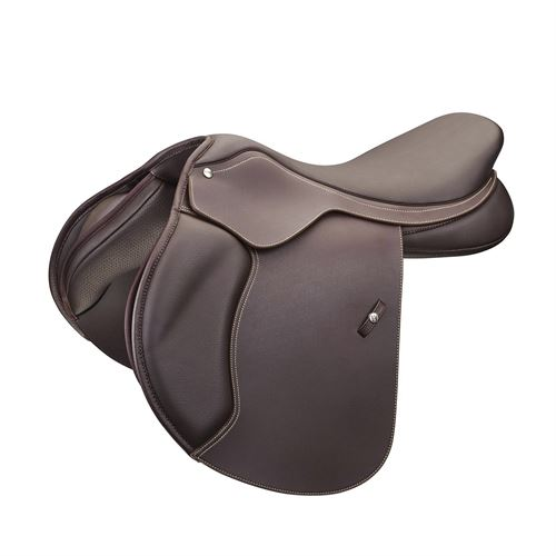 Wintec 500 Close Contact Saddle with Flocked Panels