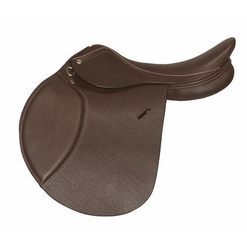 Henri de Rivel Advantage Close Contact Saddle with Flocked Panels