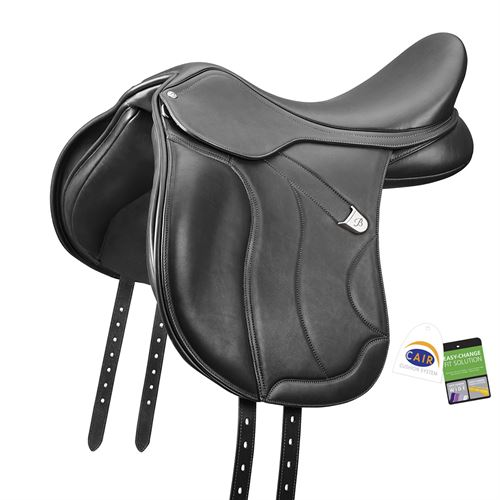 Bates WIDE All-Purpose Plus Luxe Leather Saddle with CAIR®