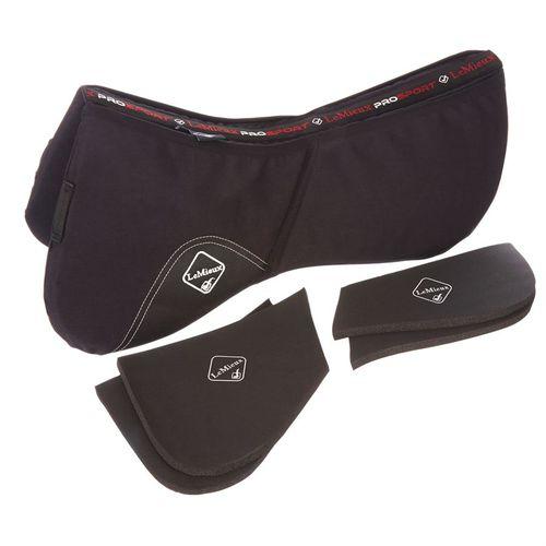 LeMieux® Pro-Sorb Plain Half Pad - Black
