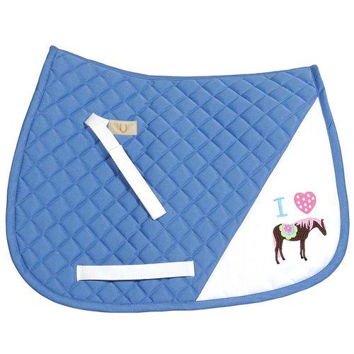 TuffRider® I Heart Pony Girl Saddle Pad