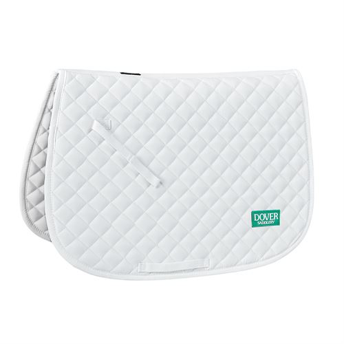 Dover Saddlery® Quilted All-Purpose Saddle Pad with Dover Logo