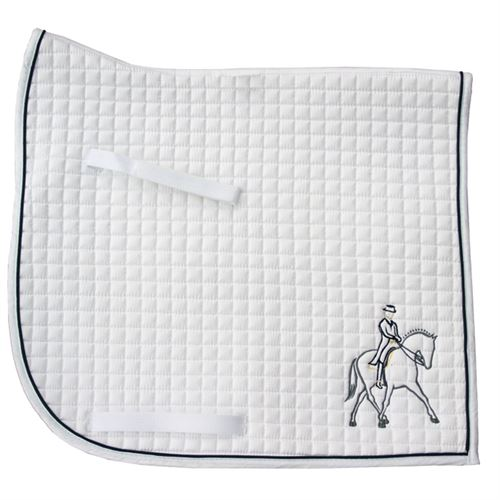 PRI Half Pass Embroidered Dressage Pad