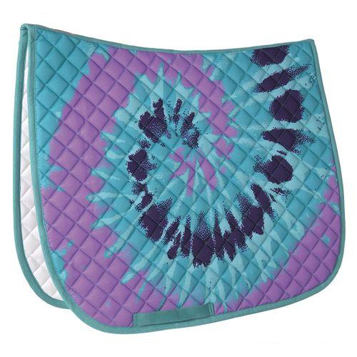 Dover Saddlery® Tie-Dye Print Dressage Pad