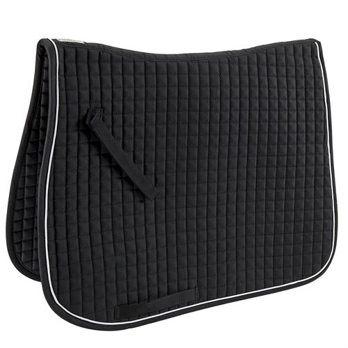 Dover Saddlery® Quilted Dressage Pad with Piping<br />