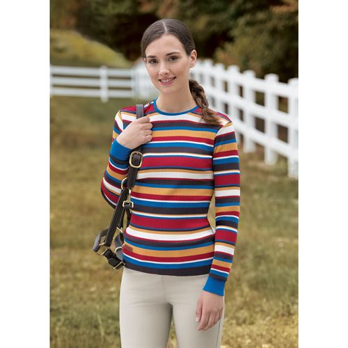 Horseware® Ladies Autumnal Striped Tee