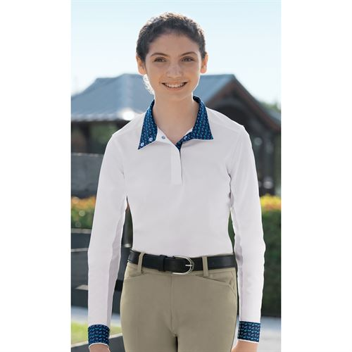 Essex Classics Girls´ Talent Yarn® Long Sleeve Show Shirt