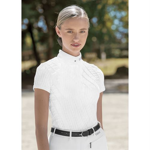 Equiline Ladies' Mauve Show Shirt