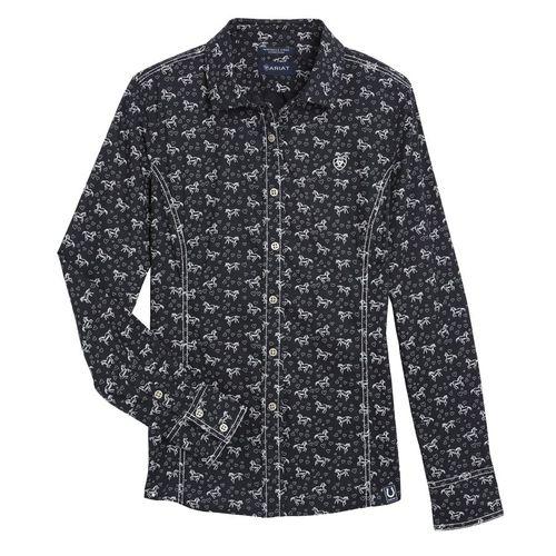 Ariat® Ladies' Horse & Heart Shirt