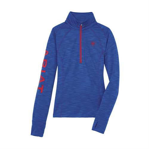 Ariat® Ladies' Tek Team Half-Zip Sweatshirt
