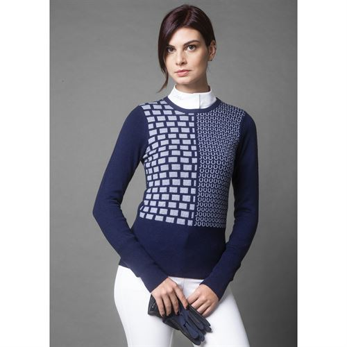 AA® Ladies' Round Neck Equestrian Sweater