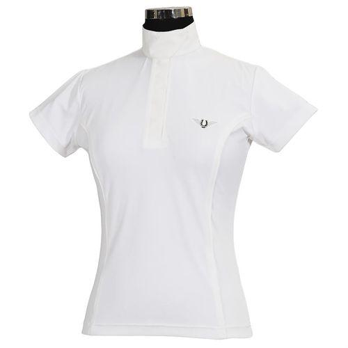 TuffRider® Ladies′ Kirby Kwik Dry Short Sleeve Show Shirt