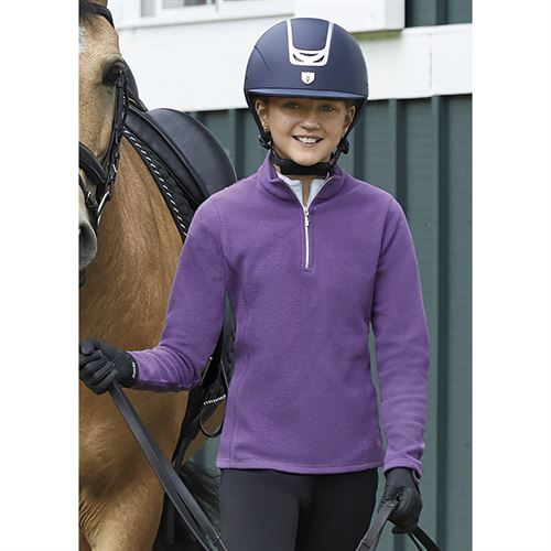Riding Sport® by Dover Saddlery® Girls' Essential Fleece Quarter-Zip Top