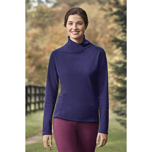 Riding Sport® by Dover Saddlery® Ladies' Essential Fleece Wrap Turtleneck Top
