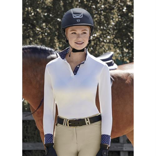 Dover Saddlery® CoolBlast® Ladies' Long Sleeve Show Shirt