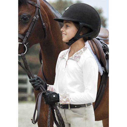 Dover Saddlery® Girls' CoolBlast® Girls' Long Sleeve Show Shirt