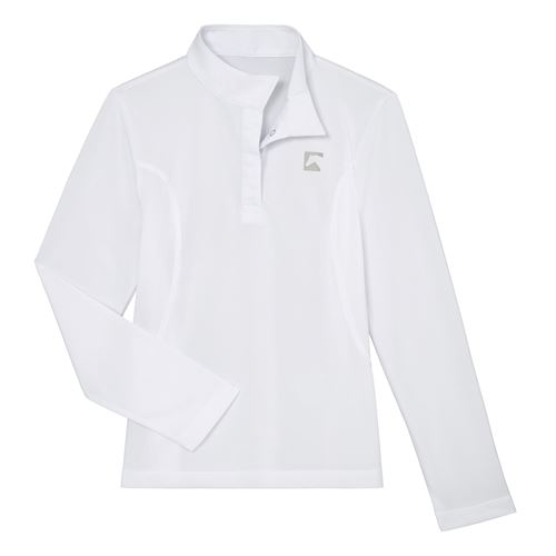 Riding Sport™ by Dover Saddlery® Girls' Essential Long Sleeve Show Shirt