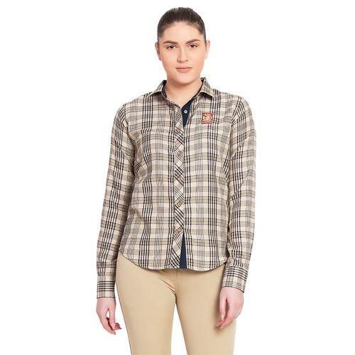 Baker® Ladies Long Sleeve Sport Shirt