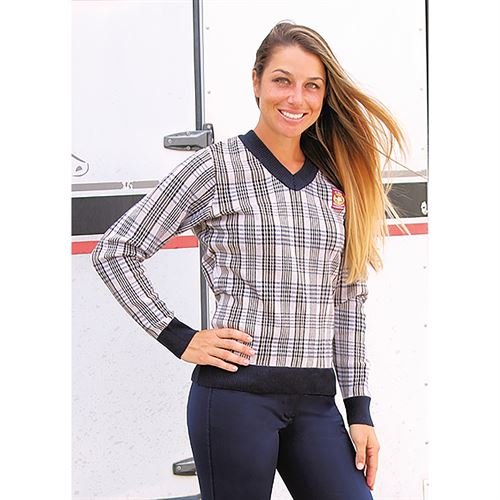 Baker® Ladies Plaid Sweater