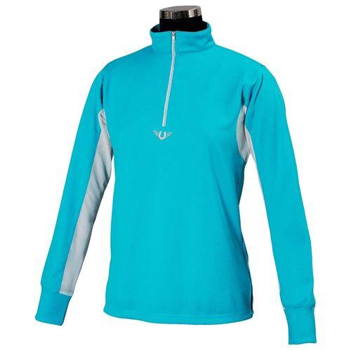 TuffRider®  Childrens Ventilated Technical Long Sleeve Sport Shirt