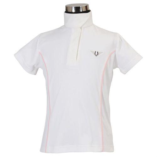 TuffRider® Childrens Kirby Kwik Dry Short Sleeve Show Shirt