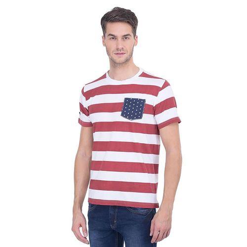 Men's Thompson Striped Round Neck T-Shirt
