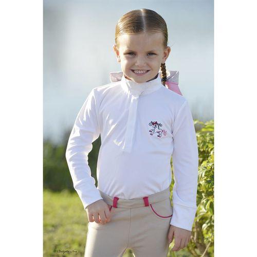 Belle & Bow Equestrian Childrens Show Shirt