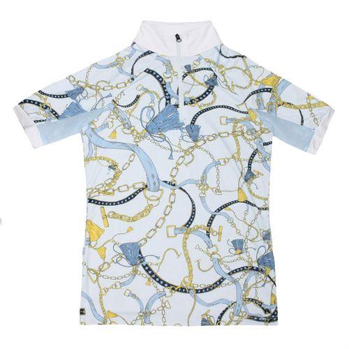 Kastel Denmark Charlotte Short Sleeve Print Shirt