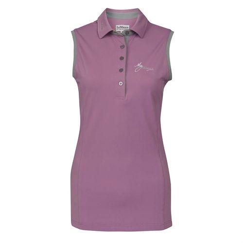 My LeMieux® Ladies' Sleeveless Polo Shirt
