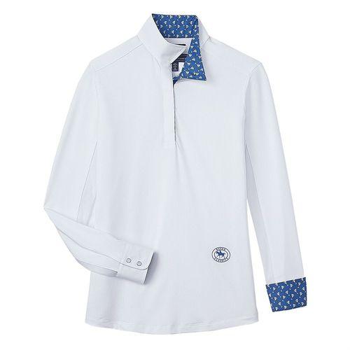 Essex Classics Ladies' Talent Yarn® Wrap Collar Long Sleeve Show Shirt