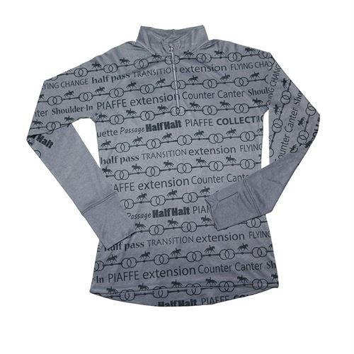 Dressage Movements Quarter Zip Technical Shirt