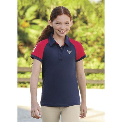 Ariat® Girls' Team Polo Shirt