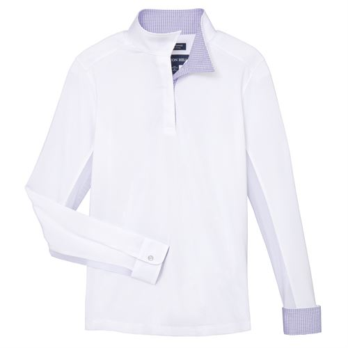 Essex Classics Beacon Hill Girls' Long Sleeve Show Shirt