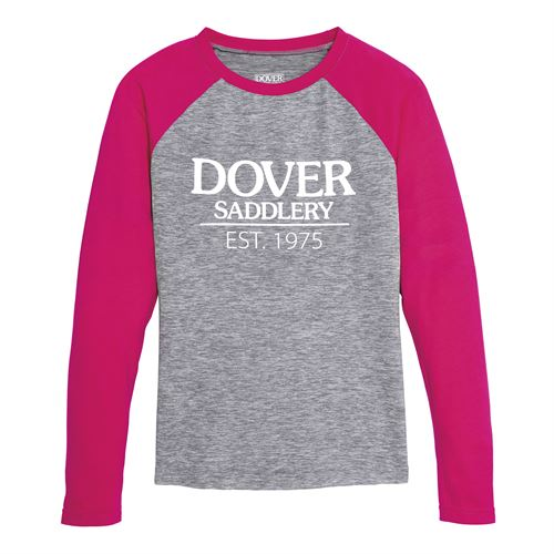 Dover Saddlery® Girls' Est. 1975 Baseball Tee