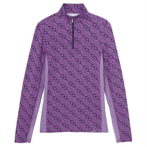 Dover Saddlery® CoolBlast® Ladies' Icefil® Long Sleeve Print Shirt
