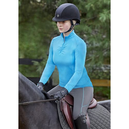 Stride by Dover Saddlery® Ladies' Ruched Long Sleeve Top