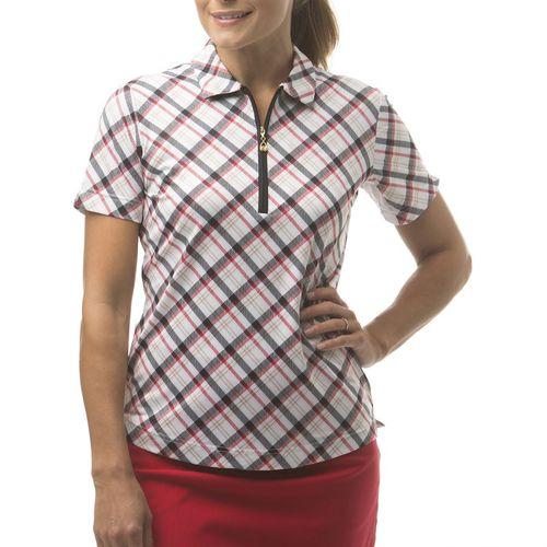 SanSoleil™ Ladies' SolCool® ShortSleeve Polo Collar Top