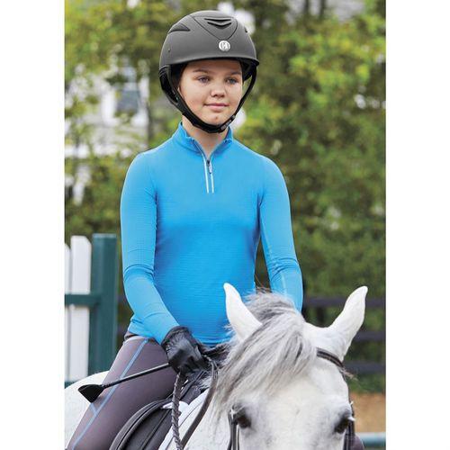 Stride by Dover Saddlery® CoolBlast® IceFil® Girls' Long Sleeve Shirt