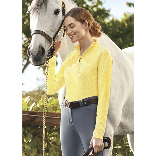 Dover Saddlery® CoolBlast® Ladies' IceFil® Lots-of-Dots Long Sleeve Shirt