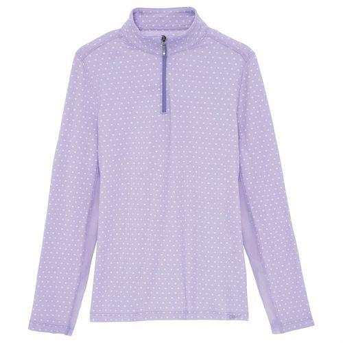 Dover Saddlery® Coolblast® Girls' IceFil® Lots-of-Dots Long Sleeve Shirt