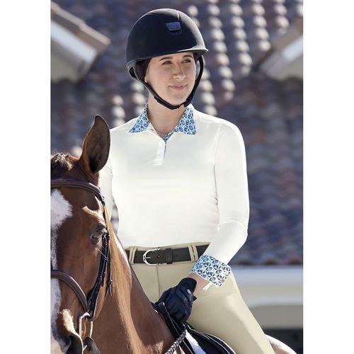 Dover Saddlery® Ladies' CoolBlast® Long Sleeve Show Shirt