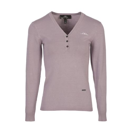 AA® Ladies'V-Neck Sweater with Buttons